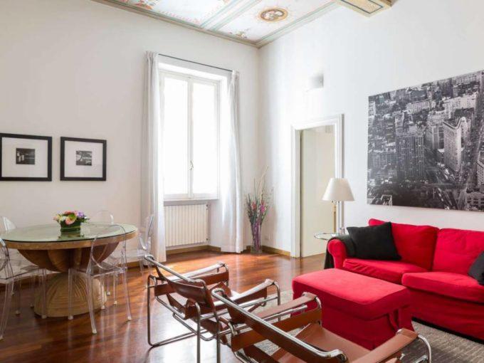 Appartamento in affitto via Vittoria, Roma