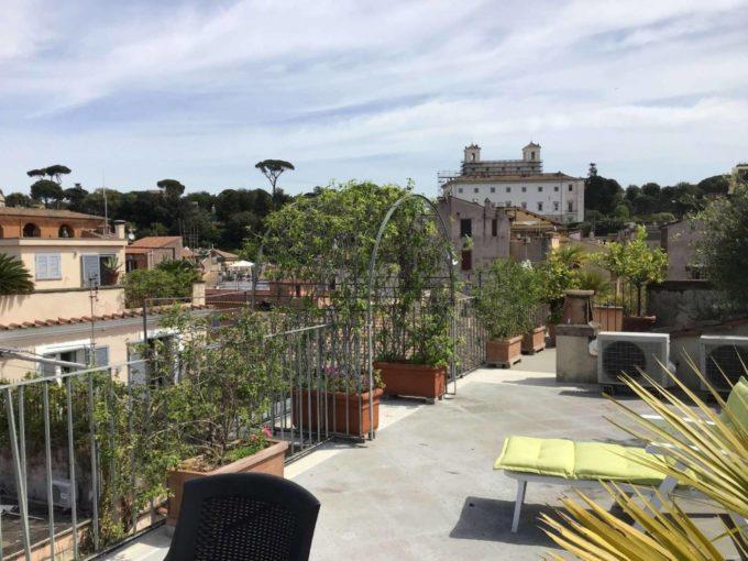 Attico in affitto via Vittoria, Roma