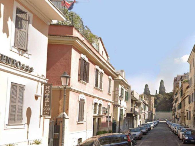 Terracielo in affitto via Carlo Emanuele I, Roma
